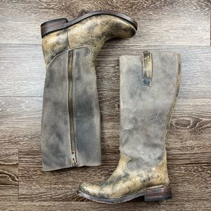 Freebirds | By Steven Tall Distress Leather Boots